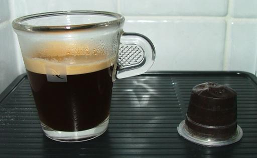 NexPod and espresso
