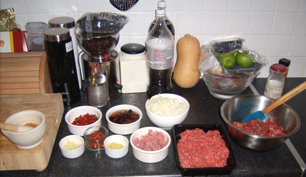 Chilli Ingredients