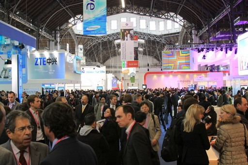 Mobile World Congress 2010 - Hall 8 in full swing