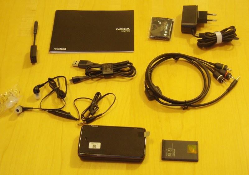 N900 Unboxing 7