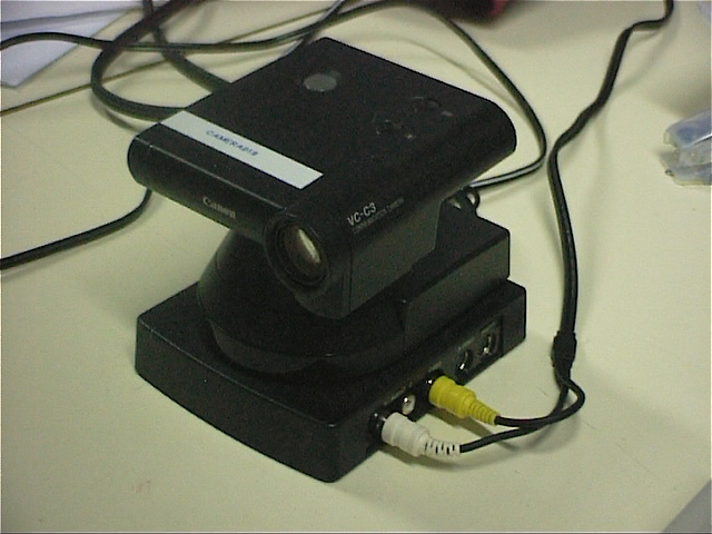 Canon VC-C3 pan/tilt/zoom video camera