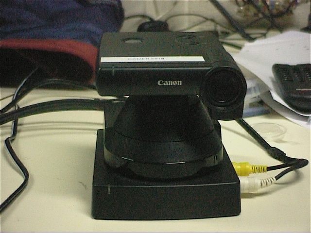 Canon VC-C3 from front