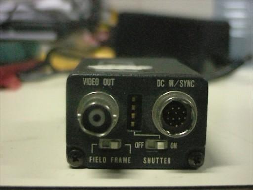 Hitachi KP-M1 rear