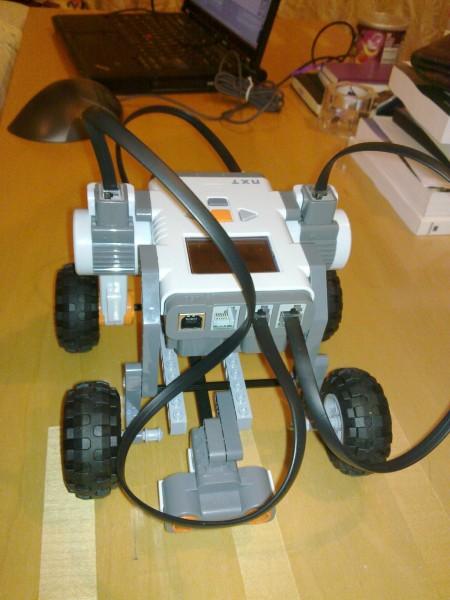 NXT Mindstorms robot