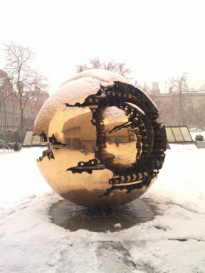 Sphere Within Snow