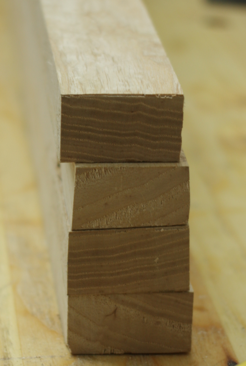 Even the end grain is pretty
